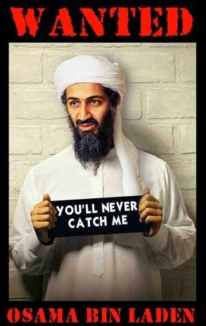 bin laden poster. Osama Bin Laden the reprobate