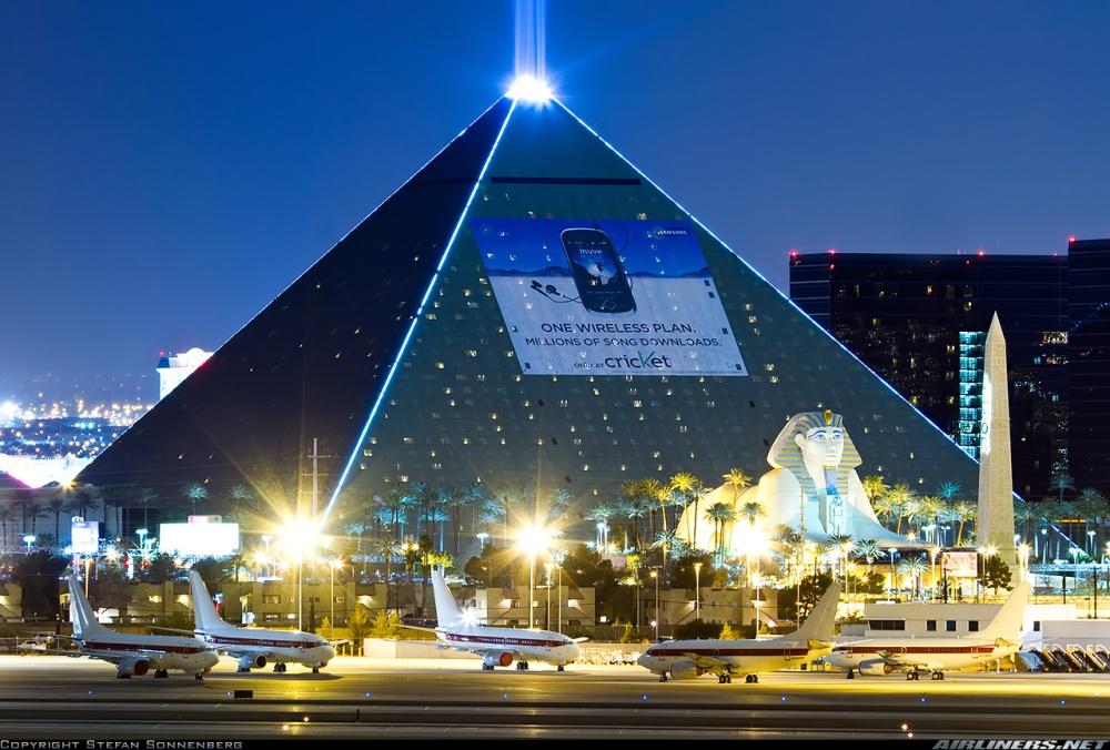 the pyramid vegas