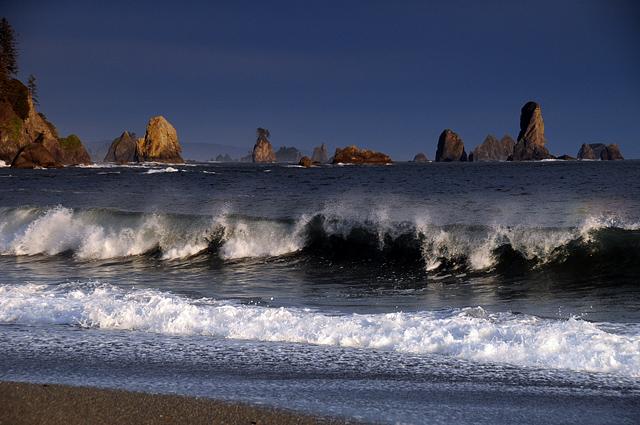 Ocean Beaches At La Push Wa