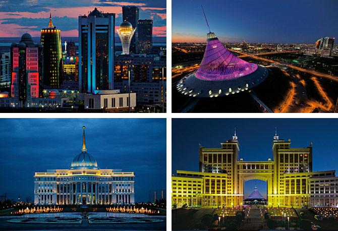 Astana New Capital Of Kazakhstan Has Grandiose