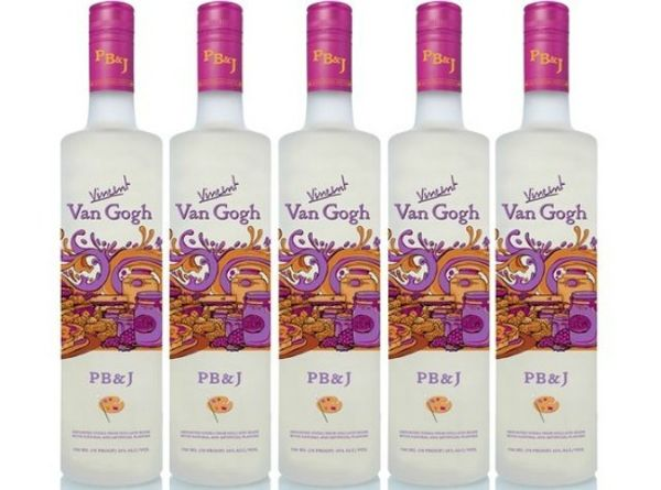 weird-food-flavors-PB & jelly vodka