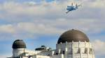 space shuttle Endeavour Arrives In L.A. Atop Transport Plane