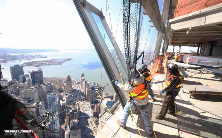 One World Trade Center Topped Out At 105 Floors