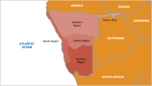namibia-region-map