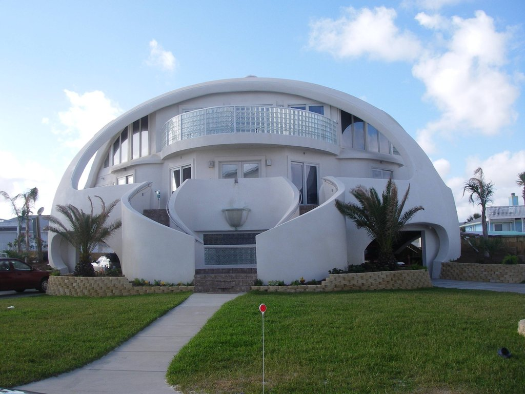 A Dome Home Built To Survive Hurricanes Markosun S Blog