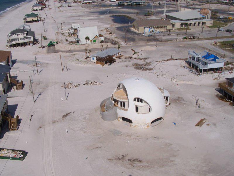 A Dome Home Built To Survive Hurricanes Markosun S Blog
