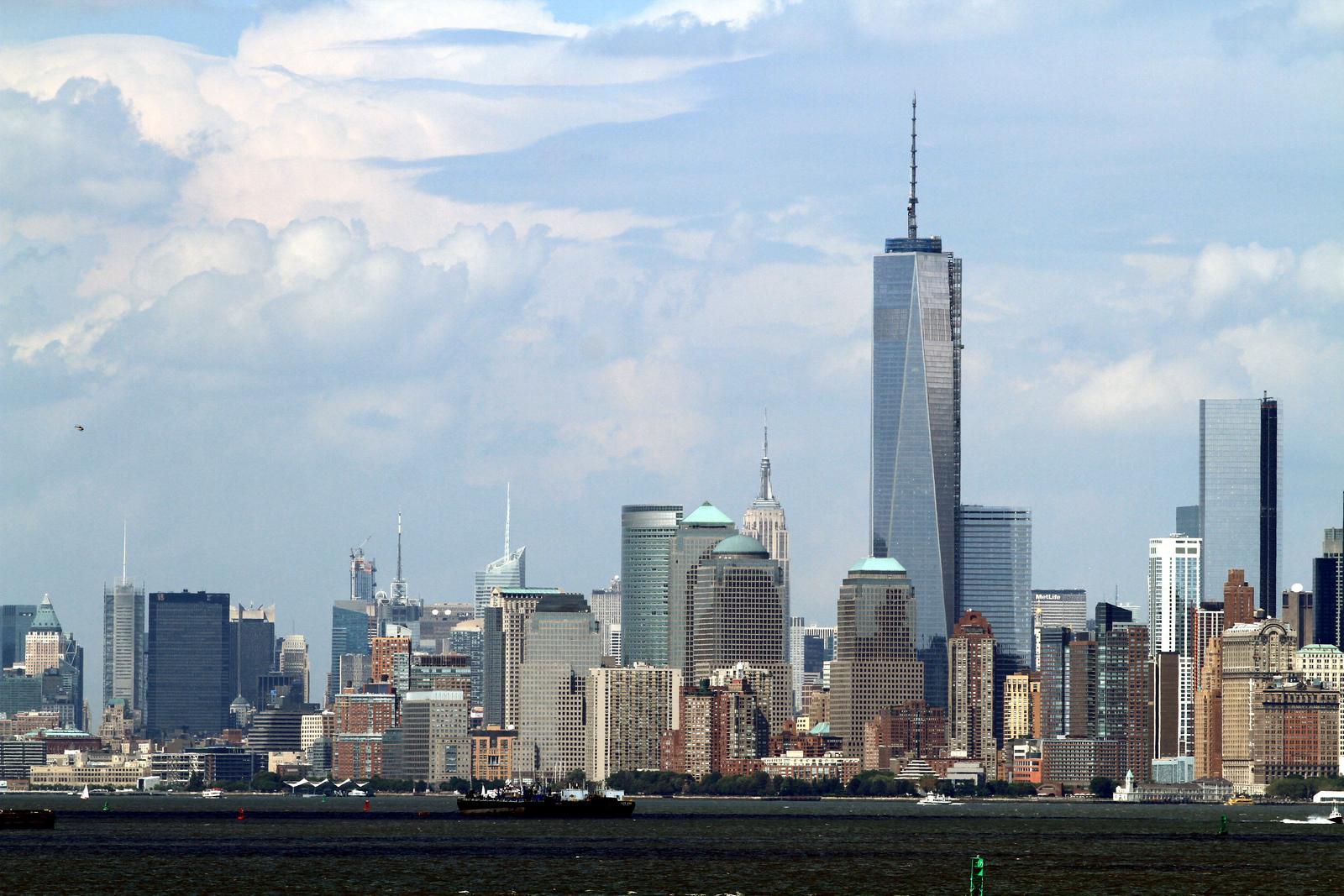 One World Trade Center Exterior Almost Complete Markosun