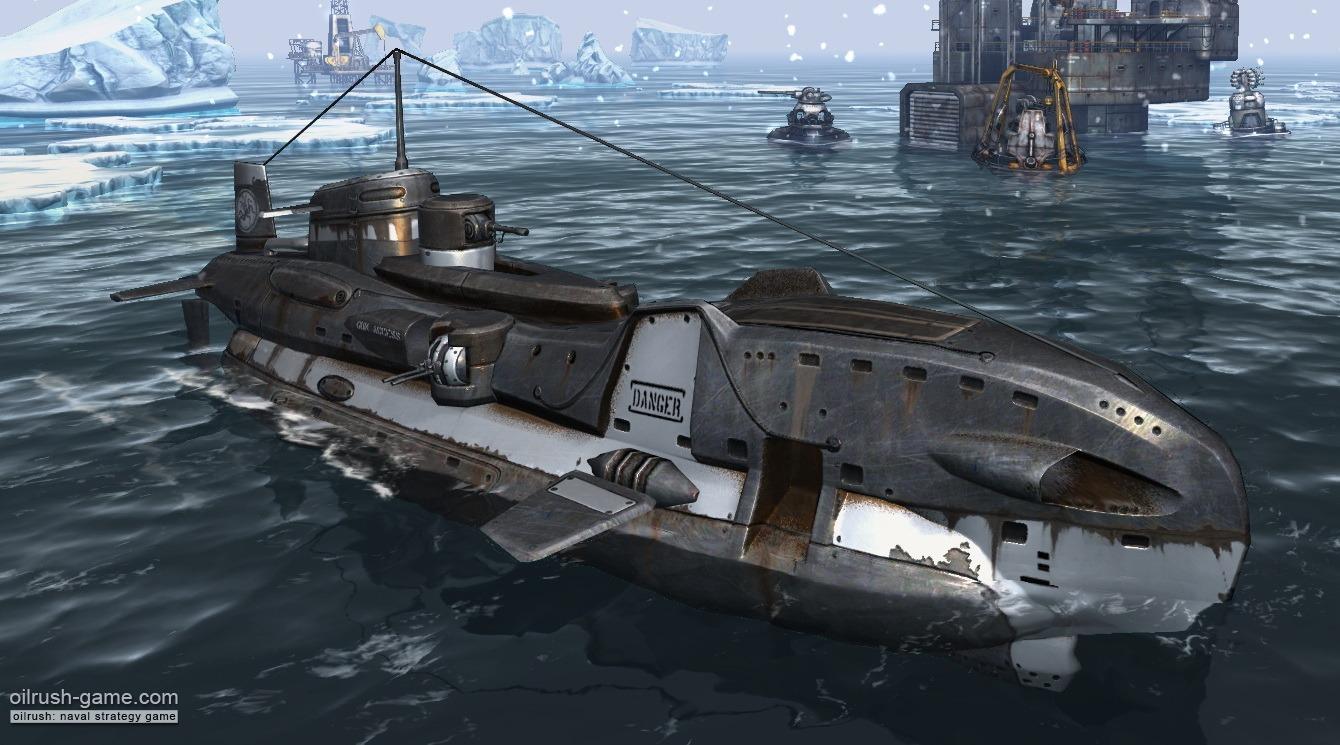 Sci Fi Future Military Submarines