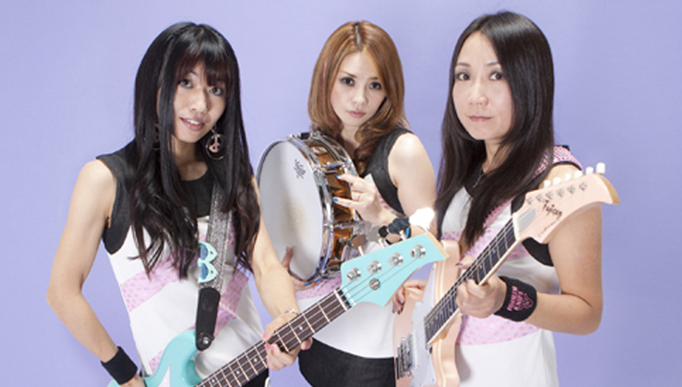 Japanese girl punk band-7653
