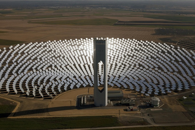 Video A Solar Power Plant In Spain Is Producing Enough Power For