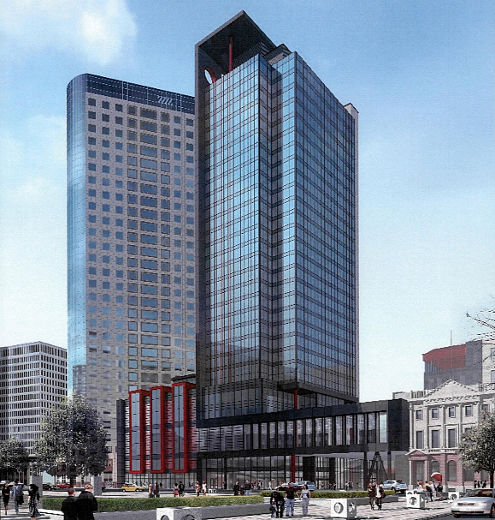 Tall Buildings Of Winnipeg