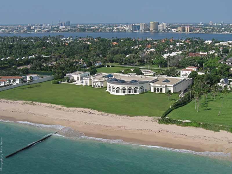 Donald-Trump-$125-million--Palm-Beach,-FL