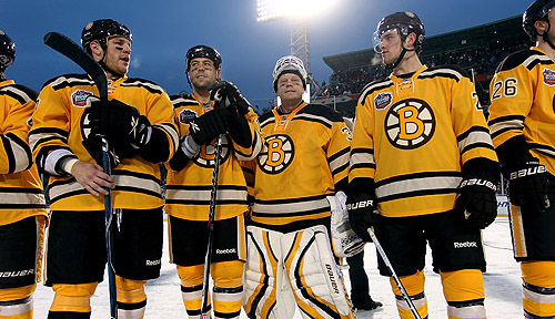 Winter Classic: Philadelphia Flyers v Boston Bruins