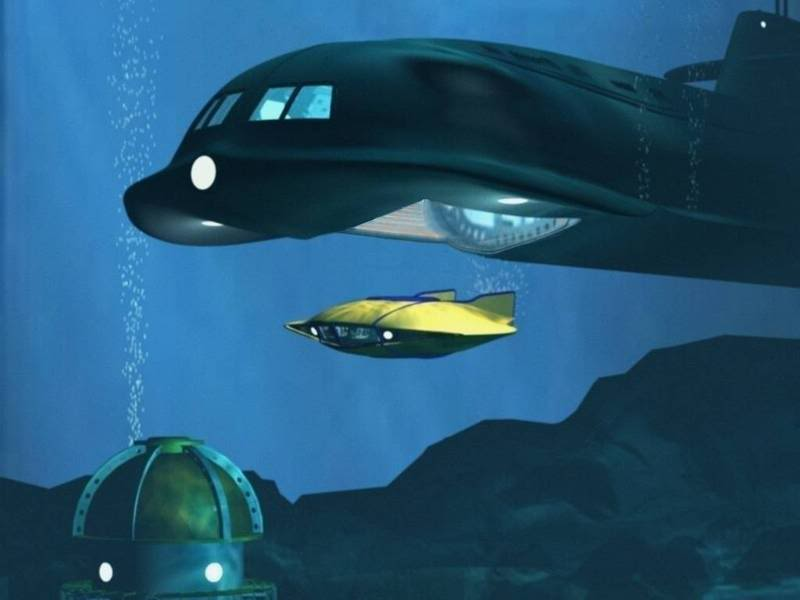 voyage au fond des mer serie