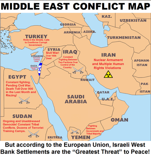 the middle east land of conflict essay In 2015, the middle east remained an area of major insecurity, and a source of profound problems and challenges for neighbouring regions, most notably in the on the run in their own land in lebanon and jordan, refugees have settled in the poorest regions of both countries, triggering a growth in vulnerable populations.