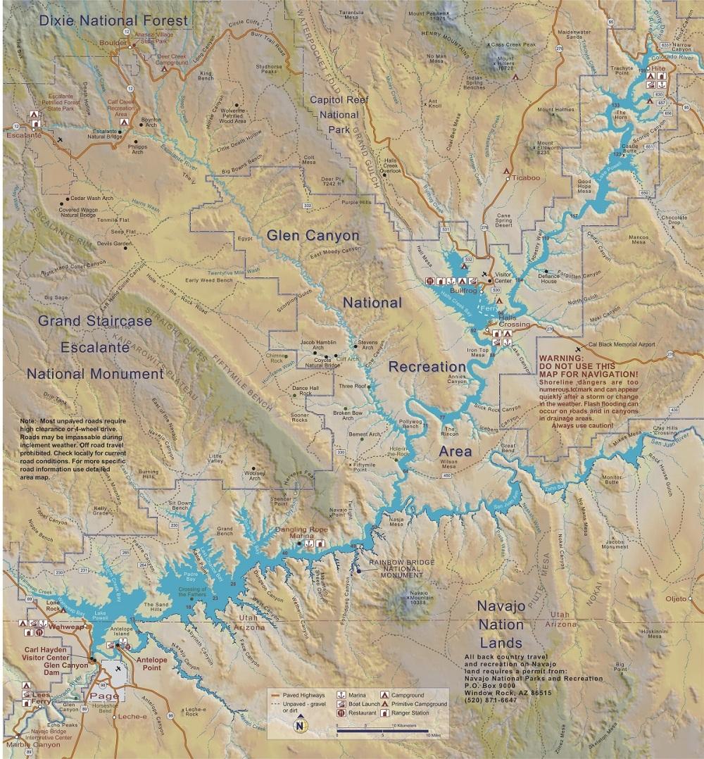 Lake_Powell_Map