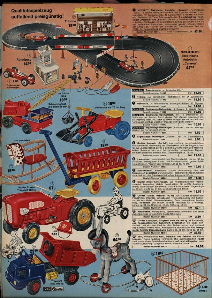 ads6 1963 german toys