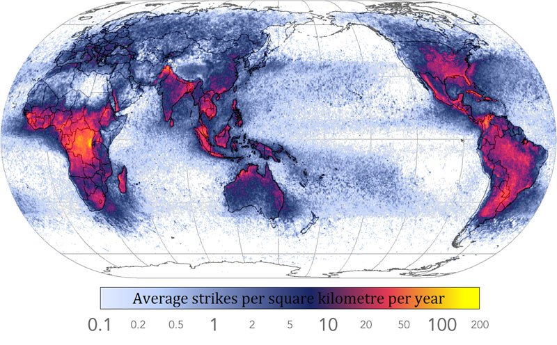 mapsfrequency-of-lightning-strikes-in-the-world
