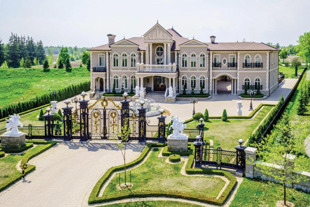 Amancio Ortega Mansion
