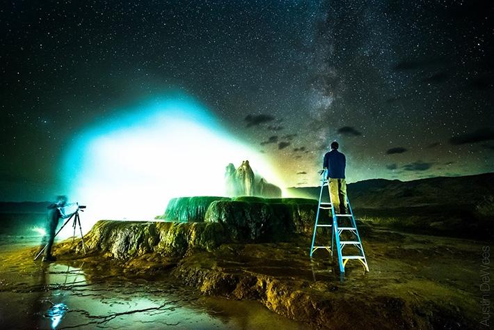 Stunningly Beautiful Little Known Geyser In Nevada The