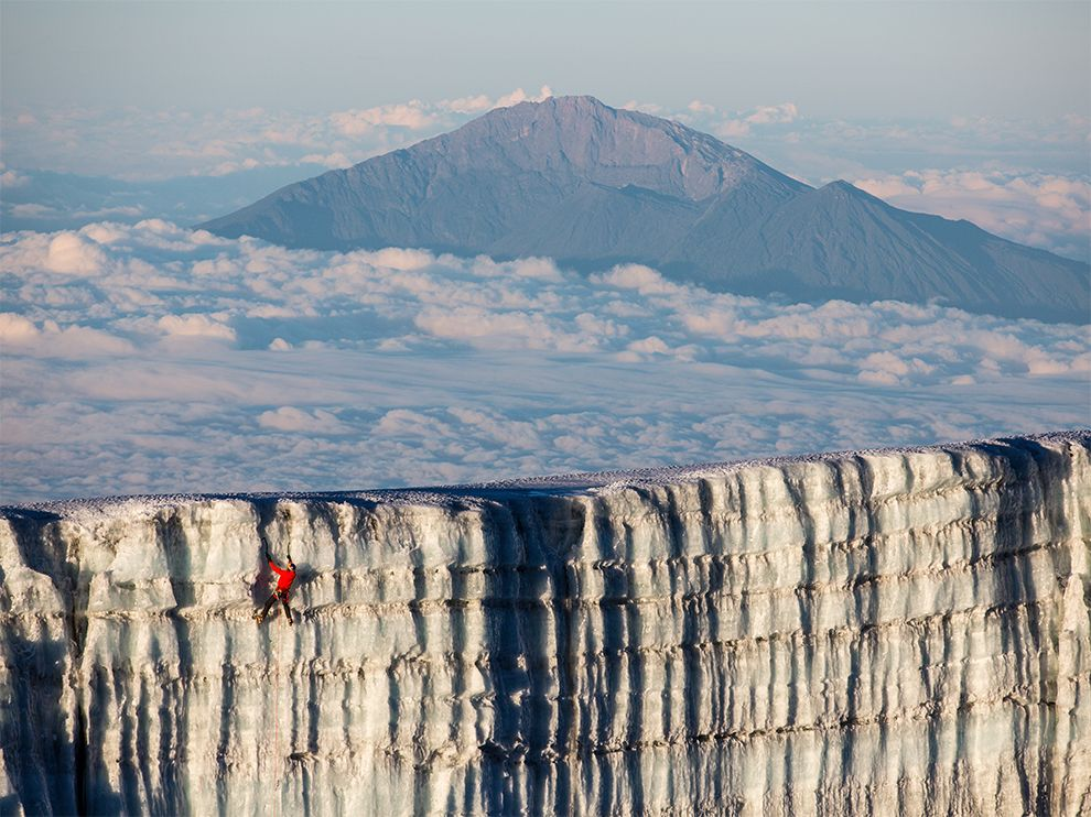 natgeo10 Ice Climbing Mount Kilimanjaro, Tanzania