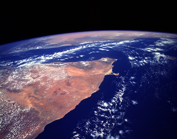 space horn of africa
