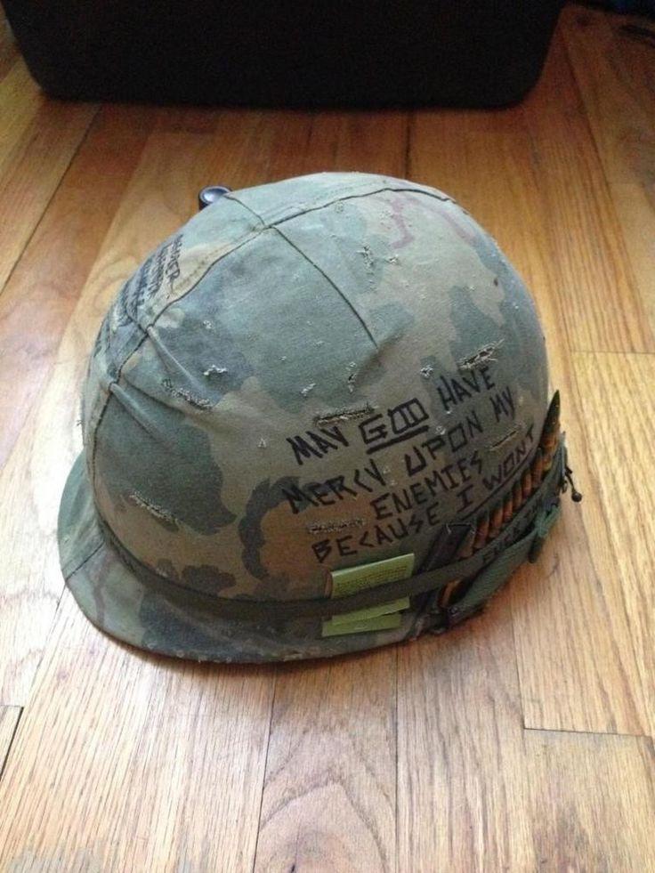 Vietnam War Gi Helmet Graffiti Markosuns Blog