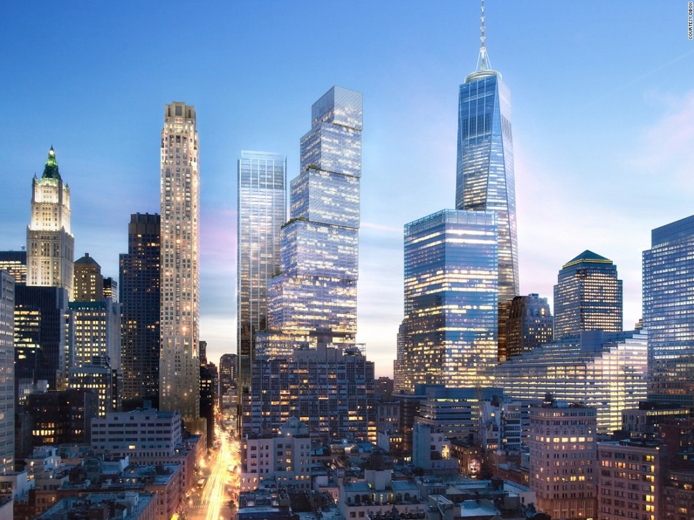 The Re Designed Concept For Two World Trade Center