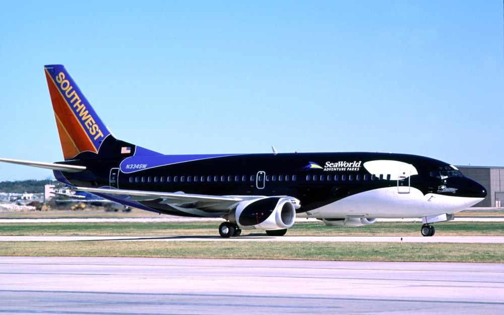 Southwest Airlines Specialty Plane Shamu One.
