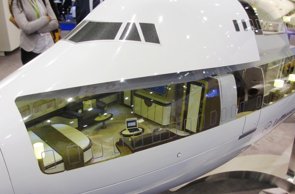 Boeing 747-8 Private Jet takes Luxury to a Whole New Level