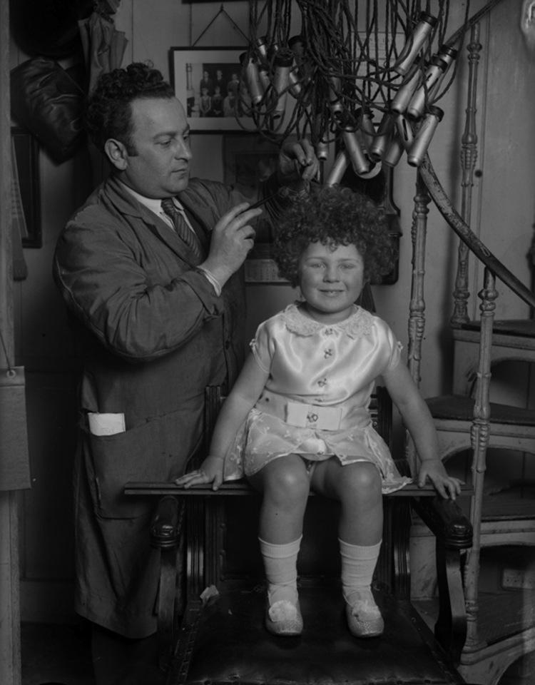 invent hair permer 1930