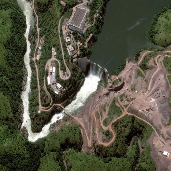 space2 Cuanza river, angola cambambe dam