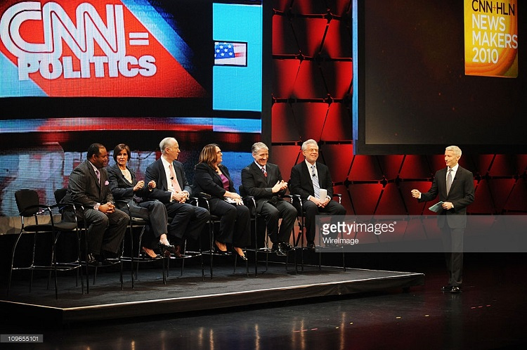 NEW YORK - APRIL 13: attends CNN + HLN Newsmakers 2010 at Jazz at Lincoln Center on April 13, 2010 in New York City. 19801_002_0601.JPG (Photo by Kevin Mazur/WireImage)