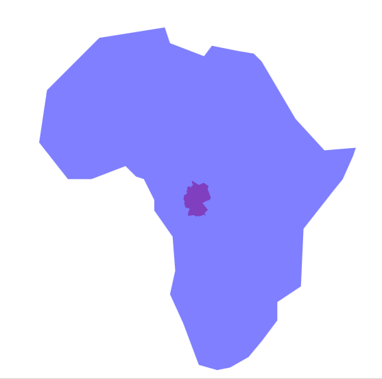 00map ger africa