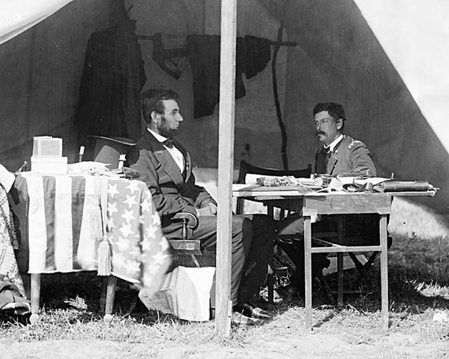 rare abe and general george mcclellan