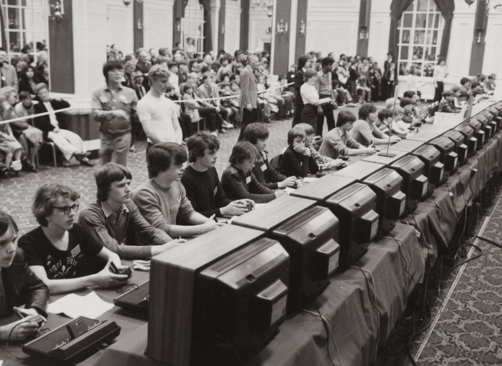 rare atari space invaders championship 1980