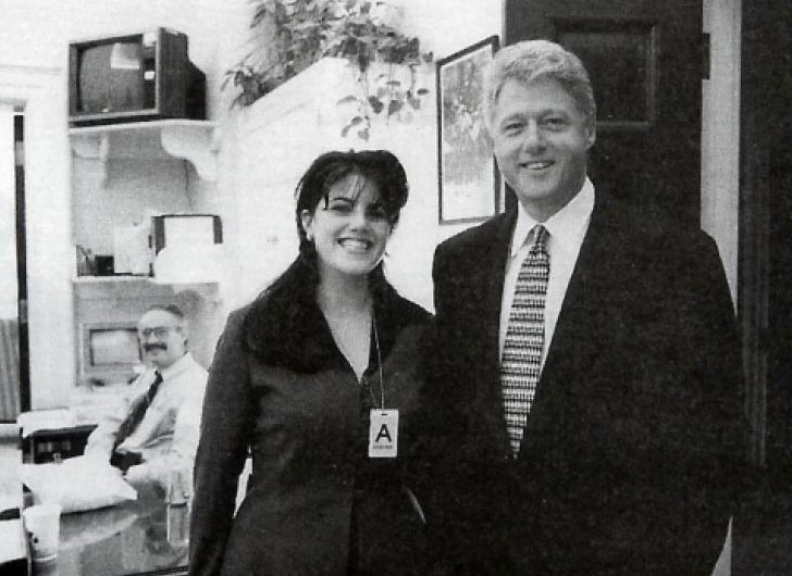 rare clinton lewinsky 1995