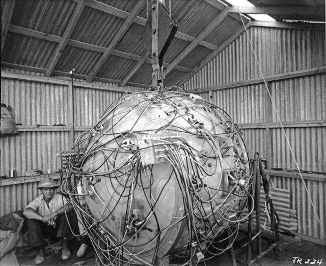 rare gadget first atomic bomb