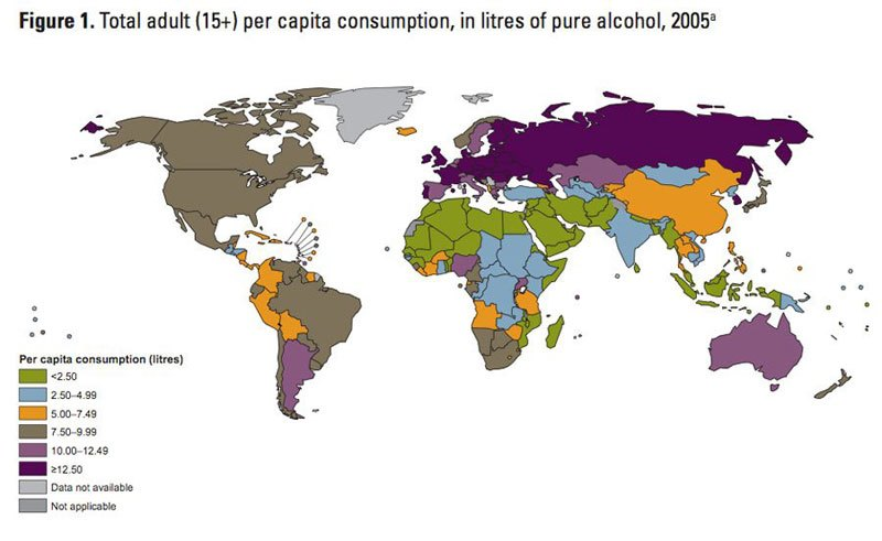 fun maps alcohol consuption