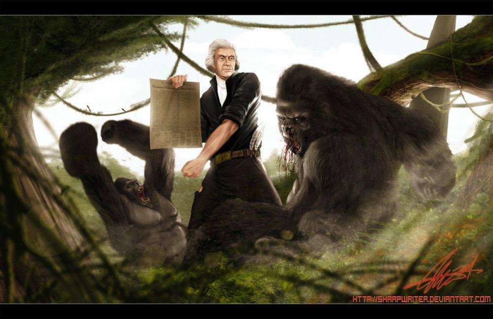 thomas_jefferson_vs_gorilla_by_sharpwriter-d3fxuo8