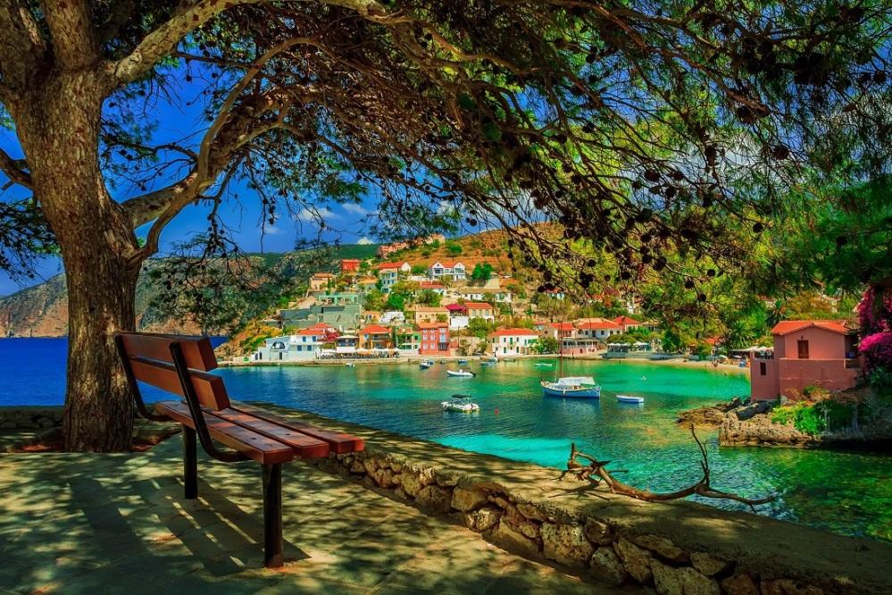 red greek village