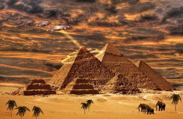ancientufosegypt
