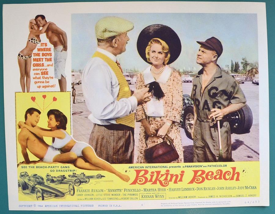 Bikini Beach - Lobby Card