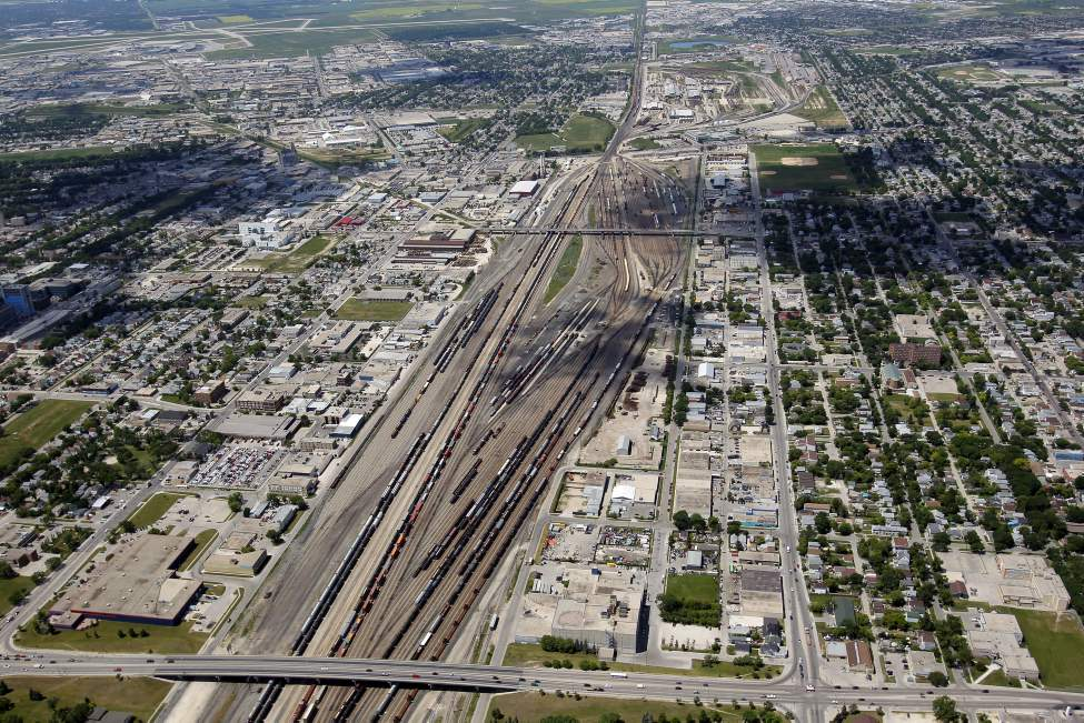 CP rail yards. July 3, 2012 (BORIS MINKEVICH / WINNIPEG FREE PRESS)