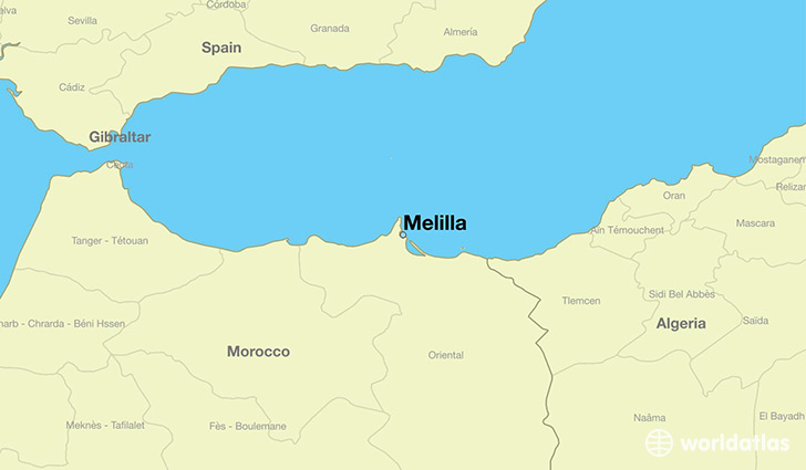 melilla-locator-map