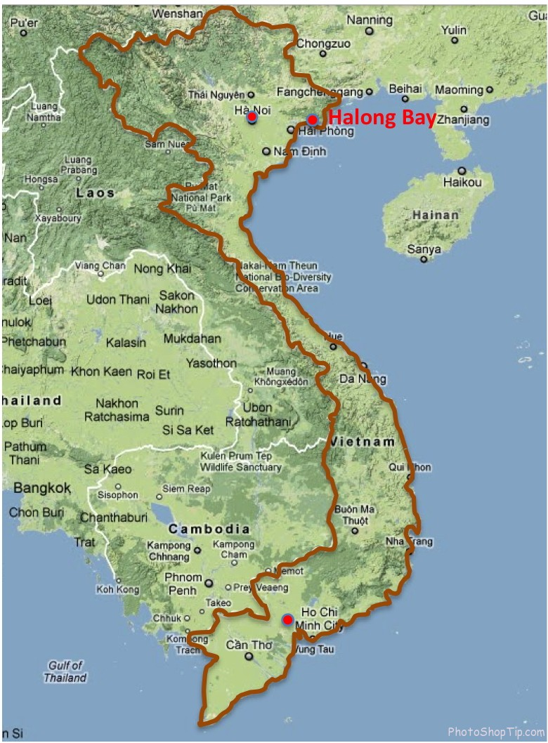 ha-long-bay-map