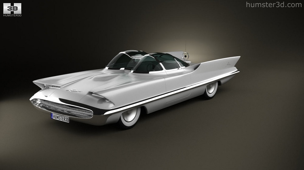 1955 Lincoln Futura The Concept Car That Would Become The Original